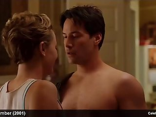 charlize theron & lauren graham naked and lingerie in movie