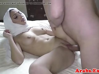 veiled muslim doggystyled balls deep