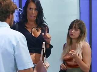 reagan foxx sexy shopping
