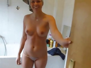 nice creampie after shower
