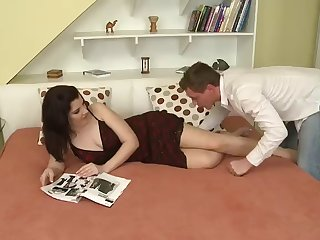 hot sexual relations leaves eradicate affect slutty alice black alongside a sticky moutful of cum